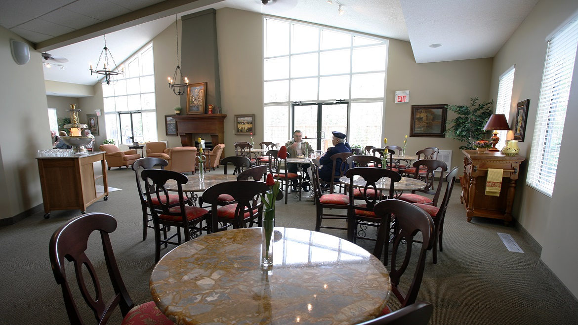 Westlawn Funeral Home & Cemetery- Reception Area