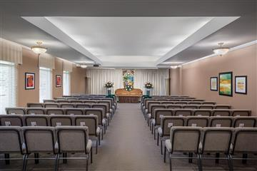 funeral home memorial service