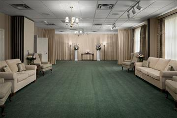 visitation room at funeral home
