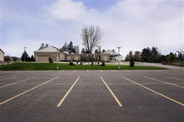 funeral home parking