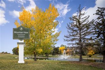 mountain view cemetery in SE Calgary