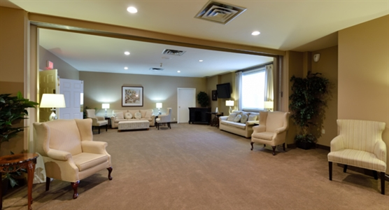 Interior photo of Dodsworth & Brown Funeral Home - Robinson Chapel