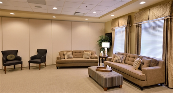 Interior photo of Brampton Funeral Home & Cemetery
